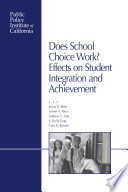 Does School Choice Work?