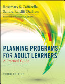Planning Programs for Adult Learners: A Practical Guide