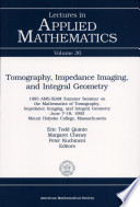 Tomography, Impedance Imaging, and Integral Geometry