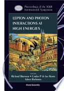 Lepton and Photon Interactions at High Energies