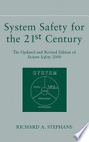 System Safety for the 21st Century