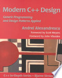 Modern C++ Design Book Cover