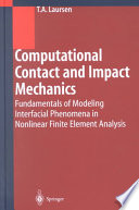 Computational Contact and Impact Mechanics