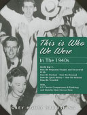 image of book this is who we were in the 1940s