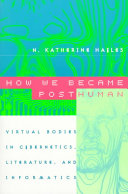 How we became posthuman on Google Books